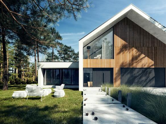 House E1 / Visualization by Michał Nowak
