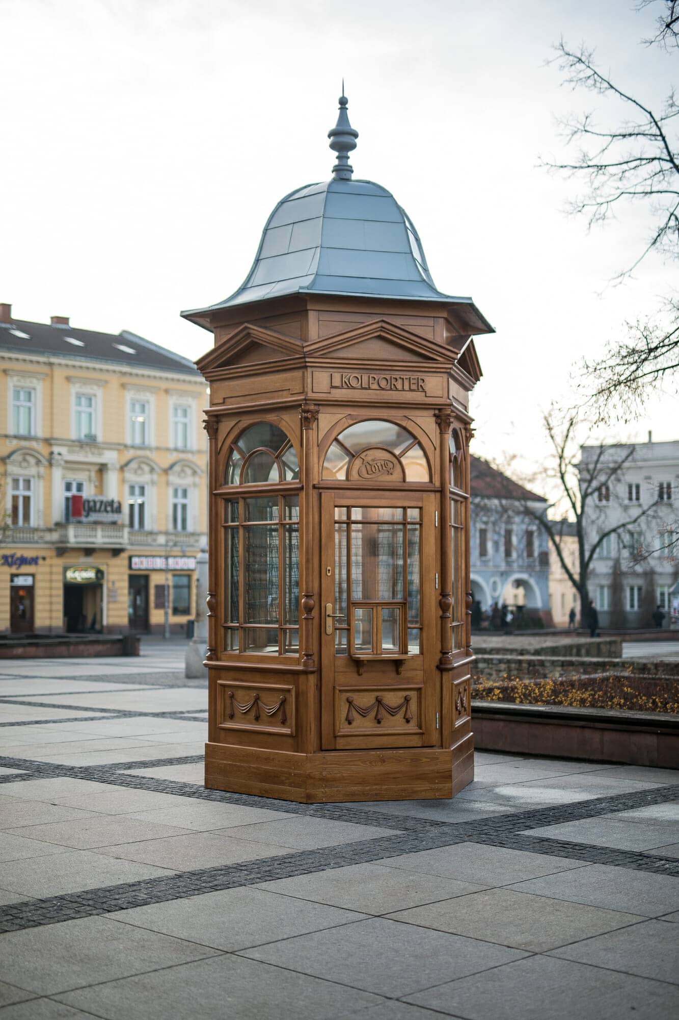 Kebabczy's kiosk - replica / photo: Marcin Boruń