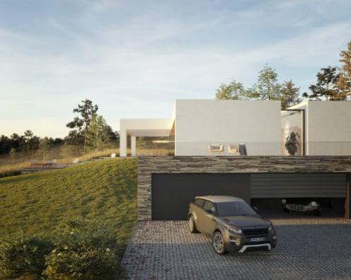House on the hill / visualization: Michał Nowak